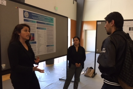 Public Health undergrads win Research Week Poster Presentation