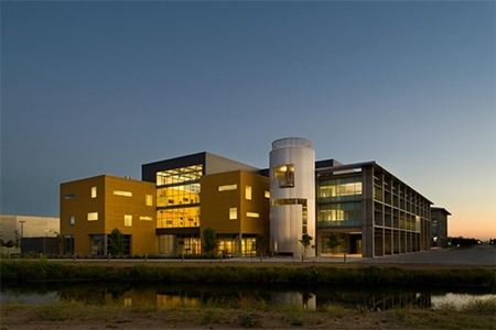 Social Sciences and Management building is the home of Public Health at UC Merced.