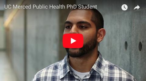 Public Health Ph.D. Student Ravi Singh UC Merced