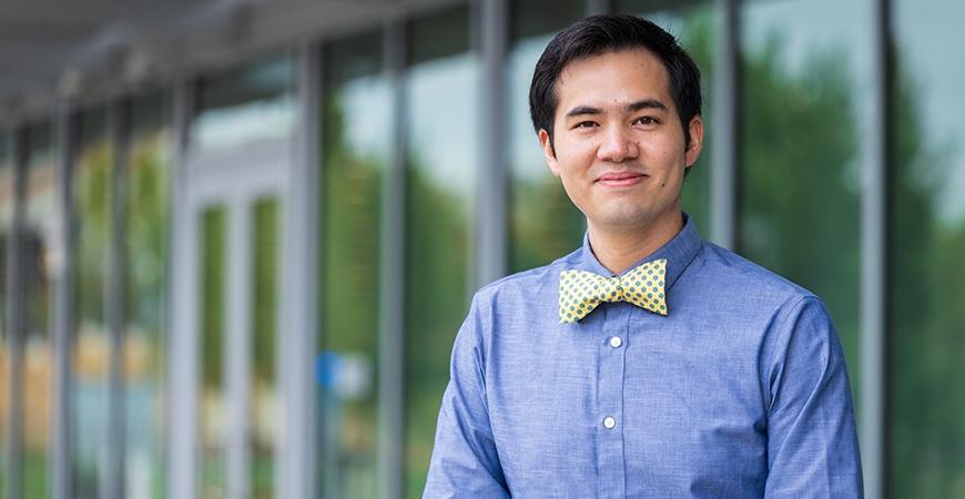 Public Health Professor Alec Chan-Golston